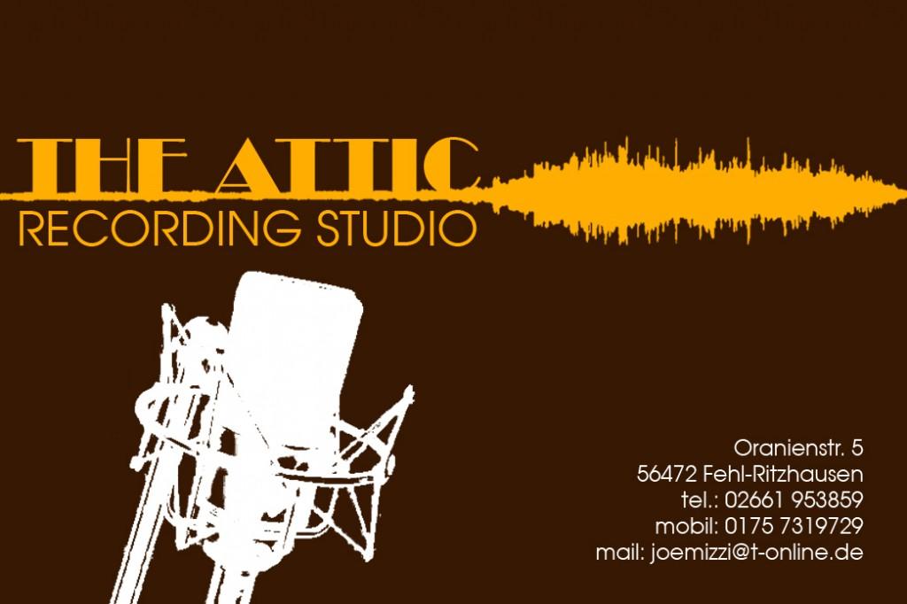 The Attic Recording Studio